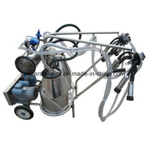 牛のためのOil-Free携帯用ガソリン真空ポンプの搾乳器機械