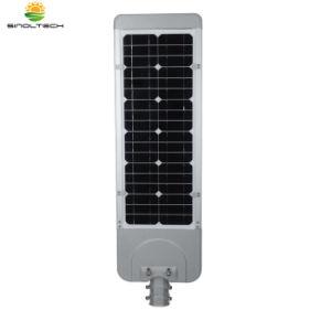 Série plana alimentada a energia solar 30W integrado de LED de iluminação de jardim exterior (SNFL-30)