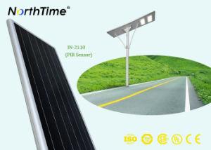 Alto Liumen indicatore luminoso di via solare Integrated di IP65 con controllo di APP