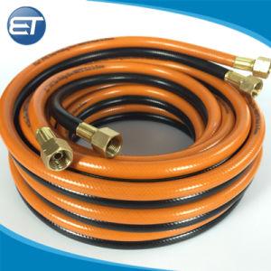 Macchinetta a mandata d'aria flessibile del PVC del tubo flessibile gemellare ad alta pressione della saldatura