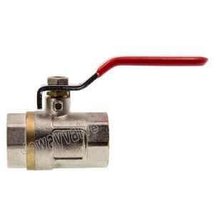 Dw247はアルミニウムハンドルが付いているポートの真鍮の球弁を減らした
