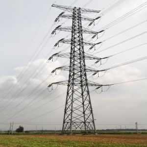 Ökonomische Guyed Zeile Energien-Stahl Leadingcompany bildete Aufsatz