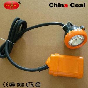中国の石炭Kj3.5lmの高い発電LED鉱山の保安帽ランプ