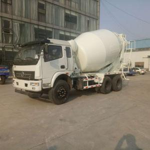 8 mètres cubes de béton de la capacité des camions de mixage
