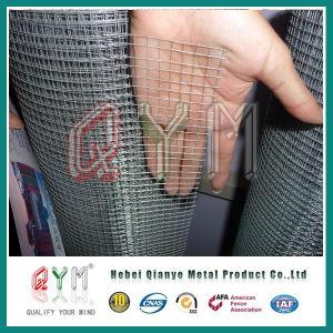 PVC上塗を施してある緑の溶接された網のロールスロイスのステンレス鋼の金網