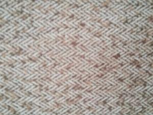 ウールポリエステルあや織りの偶然ファブリック