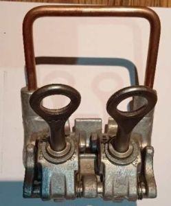 Les frais généraux de robinets primaire étrier mâchoire large les colliers de serrage 1 vis en aluminium