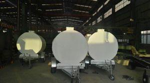 Высокое качество двойные стенки бака с 2 отсеками для экспорта
