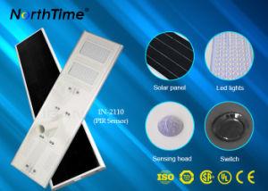 Sensor de movimiento por infrarrojos de alta potencia con autodetección de todo-en-uno calle la luz solar