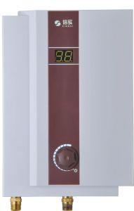 Steplessの電気給湯装置