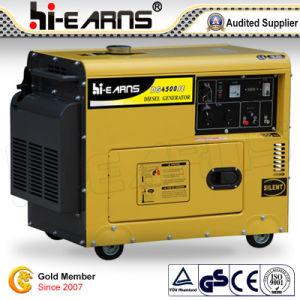 Air-Cooled tipo silencioso grupo electrógeno diesel (DG4500SE3).