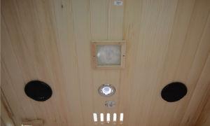2016 Portable Infrarrojo Lejano Sauna Sauna de madera para 4 personas (SEK-I4).