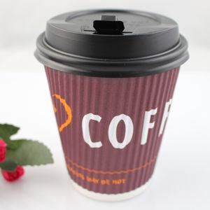 Наружные кольца подшипников бумаги с логотипом одинарного или двойного/ колебания стены для кофе, Китай ведет на заводе