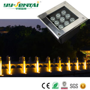 IP67の正方形の形5W LED地下ライト