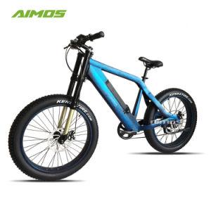 2018 Mejor venta de neumáticos de la grasa de la batería oculto Bicicleta eléctrica
