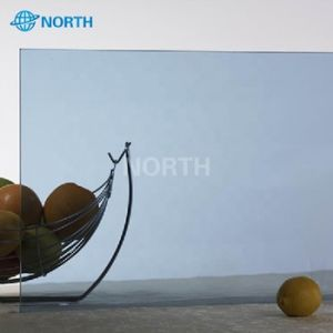 4mm-12mm Euro químico de controlo solar cinza de vidro temperado