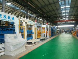 Concreto de cimento automática máquina de formação do bloco de tijolo máquina para fabricação de tijolos ocos