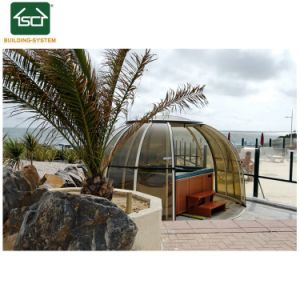 De grote Telescopische Hete Tub Cover Luxury SPA Dekking van de Pool