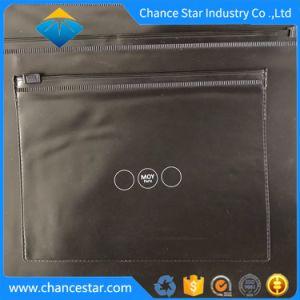En PVC noir d'impression personnalisé des emballages en plastique avec sac ziplock