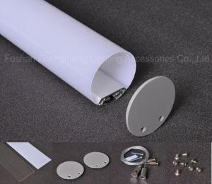 profilo di alluminio LED della striscia rotonda di 60mm per appendere