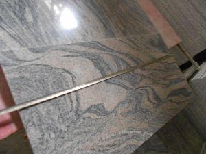 Tegel Gangsaw van het Graniet van Colombo van Juparana de Grijze/de Steengroeve van het Bouwmateriaal van de Steen van de Plak