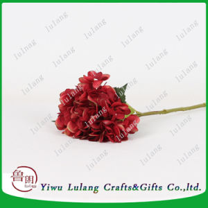 China Wholesale Cheap Hydrangea decorativos de Flores Artificiales Flores artificial