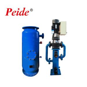 Chiller do tubo do condensador do sistema de limpeza automático