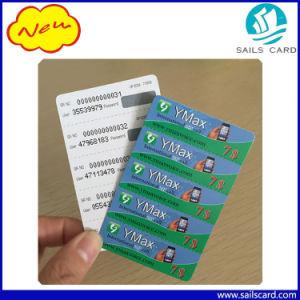 3broches Cartes à gratter prépayée et valeur multiples