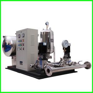 Completamente automática de presión negativa de flujo libre y la estabilización de la serie de la unidad de suministro de agua