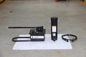 Double effet de la pompe à huile hydraulique manuel