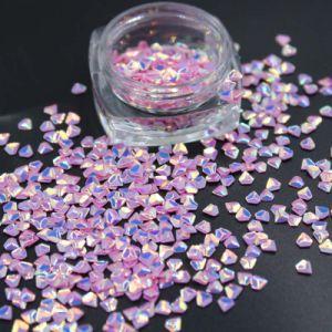 3D-Diamond форму голографических Блестящие цветные лаки/Bulk Блестящие цветные лаки оформлением на Рождество