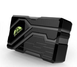 Tempo de Espera do rastreador GPS portátil com alerta Anti-Tamper