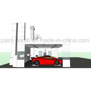 A Norma Ce Europeu Infitech Carro Auto Baía Prep/Quarto Prep/estação de preparo e cabine de pintura por spray