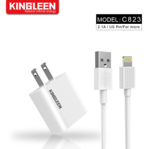 Apple iPhone быстрое зарядное устройство 8 контактный кабель USB комплект настенный адаптер для USB + 3 футов 8 контакт кабеля USB