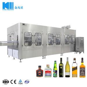 Macchina di rifornimento della birra/vino della bottiglia di vetro/linea di produzione