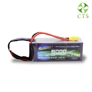 Batería de alta densidad de energía verde 11.1V 8000mAh LiFePO4 Batería para el drone