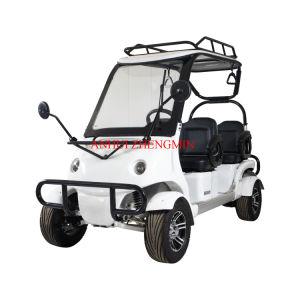 A energia verde Mini 4 lugares de Golfe Eléctrico Carro 60V2500W com marcação CE