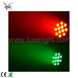 屋外12PCS 3W RGBWの段階のディスコLEDの同価ライト
