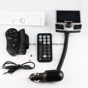 Trasmettitore dell'automobile FM Bluetooth Recevier per il Android del iPad di iPhone del Apple con lo zoccolo del caricatore del USB