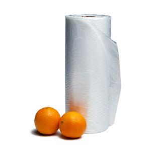 HDPE LDPE/Alimentos Frutas Verduras plano la bolsa de plástico fabricante, con el logotipo personalizado