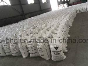 Industrie 99% de Vlokken van de Bijtende Soda voor het Maken van de Zeep