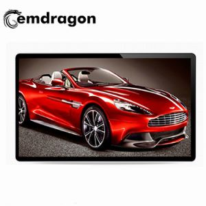 표시 LCD 디지털 Signage를 광고하는 널 KTV LCD 접촉 스크린 모니터 판매를 광고하는 55 인치 벽 마운트 디지털 Signage 접촉 LCD