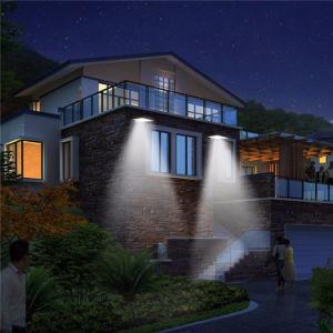 屋外の太陽ランプ太陽LEDの軽い動きセンサーの太陽庭ライト太陽壁ライト