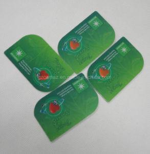 PVC 플라스틱 반대로 방사선 카드, 로고 디자인