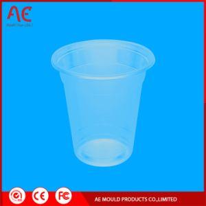 Copo de água transparente de plástico do molde de injeção