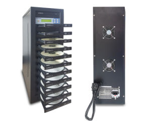 1 cajón con bandejas de 11pcs Duplicador de CD/DVD Copy Machine
