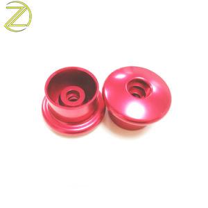 빨강으로 6061-T6/5052 알루미늄 단추 헤드를 도는 주문을 받아서 만들어진 정밀도 CNC는 양극 처리했다