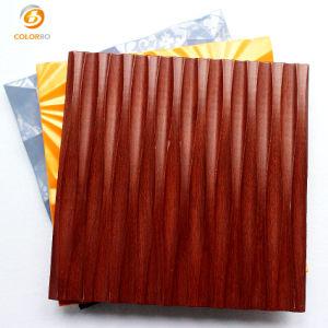 Textura 3D de MDF de paneles de pared interior de los paneles de pared 3D