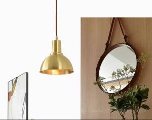 Luz de 1 moderno pingente Mini luminária de luz penduradas em preto ou cor de bronze para escritório, cozinha