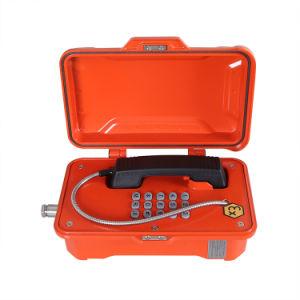 Altamente - telefono protetto contro le esplosioni certificato Atex certo di funzionamento per le zone industriali ardue